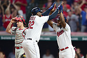 MLB-Philadelphia Phillies at Cleveland Indians-Sep 22, 2019