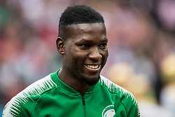 June 14, 2018 - Moscow, Russia - 180614 Omar Othman of Saudi Arabia prior the FIFA World Cup group stage match between Russia and Saudi Arabia on June 14, 2018 in Moscow..Photo: Petter Arvidson / BILDBYRN / kod PA / 92065 (Credit Image: © Petter Arvidson/Bildbyran via ZUMA Press)