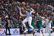 DESCRIZIONE : Eurocup 2014/15 Last32 Dinamo Banco di Sardegna Sassari -  Banvit Bandirma<br /> GIOCATORE : Rakim Sanders<br /> CATEGORIA : Tiro Penetrazione<br /> SQUADRA : Dinamo Banco di Sardegna Sassari<br /> EVENTO : Eurocup 2014/2015<br /> GARA : Dinamo Banco di Sardegna Sassari - Banvit Bandirma<br /> DATA : 11/02/2015<br /> SPORT : Pallacanestro <br /> AUTORE : Agenzia Ciamillo-Castoria / Luigi Canu<br /> Galleria : Eurocup 2014/2015<br /> Fotonotizia : Eurocup 2014/15 Last32 Dinamo Banco di Sardegna Sassari -  Banvit Bandirma<br /> Predefinita :