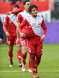 13-12-2015 NED: FC Utrecht - AFC Ajax, Utrecht<br /> Utrecht verslaat Ajax opnieuw in de Galgenwaard 1-0 / Yassin Ayoub #6