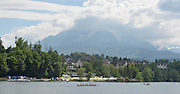 Lucerne, SWITZERLAND.  General Views GV's of the Rotsee Lake, 2012 FISA Olympic Qualifying Regatta on the Rotsee Rowing Course,  Monday  21/05/2012  [Mandatory Credit Peter Spurrier/ Intersport Images]