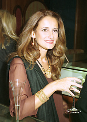 MISS ISOBEL GOLDSMITH daughter of Sir James Goldsmith, at a fashion show in London on April 30th 1997.LYA 56