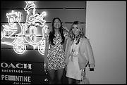 SAVANNAH LAMAR; CHARLOTTE BICKLEY, Julia Peyton-Jones, Hans Ulrich Obrist and Coach host the Serpentine Future Contemporaries Party. Serpentine Sackler Gallery. Kensington Gdns. London. 21 February 2015