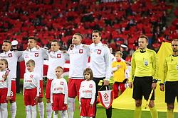November 13, 2017 - Gdansk, Poland - Poland national football team during the international friendly soccer match between Poland and Mexico at the Energa Stadium in Gdansk, Poland on 13 November 2017  (Credit Image: © Mateusz Wlodarczyk/NurPhoto via ZUMA Press)