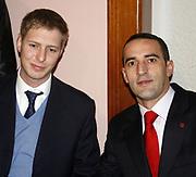 Kosovo, Pristina<br /> Saturday (evening), February 16, 2008<br /> <br /> Albanian Prince Leka -II-, arrived from Tirana to Pristina, and where expected from Daut HARADINAJ, brother of Ramush HARADINAJ former Kosovo prime Minister and former KLA (Kosovo Liberation Army) Comandant. Also Daut HARADINAJ, Ramush's brother is former KLA (kosovo Liberation Army) member.
