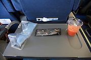 airplane bread lunch KLM