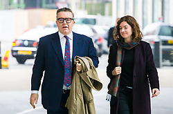 Labour Party Deputy Leader Tom Watson arrives at the BBC's New Broadcasting House in London to appear on the Andrew Marr Show. London, March 25 2018.
