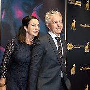 "NLD/Utrecht/20190927 - Opening NFF openingsfilm "" Instinct"", Femke Halsema en partner Robert Oey"