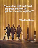 AT&T, Work with us, three men walking