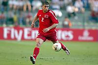 FOTBALL - CONFEDERATIONS CUP 2003 - GROUP B - TYRKIA v USA - 030619 - FATIH SONKAYA (TUR) - PHOTO STEPHANE MANTEY / DIGITALSPORT