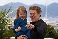 Actress Anna Ferrara and Actor Willem Dafoe at Tommaso film photo call at the 72nd Cannes Film Festival, Monday 20th May 2019, Cannes, France. Photo credit: Doreen Kennedy