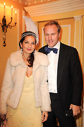 SIMON & YASMIN MILLS at the Fantasy Ball in aid if children's cancer charity CLIC Sargent held at The Dorchester, Park Lane, London on 11th November 2010.