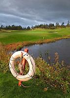GLENEAGLES SCHOTLAND - Golfbaan van Gleneagles. Er zijn drie bannen van Gleneagles. De Queen's Corse, King's  Corse en de belangrijkste is de PGA Centenary Course. Op de PGA course wordt in 2014 de Ryder Cup gespeeld. Het Gleneagles Hotel heeft 5 sterren en het restaurant van Andrew Fairlie met 2 Michelin sterren. FOTO KOEN SUYK