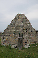 Ruin on Inis Oirr the Aran Islands Galway Ireland