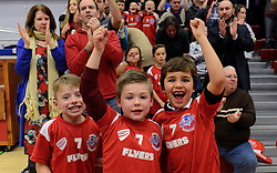 Bristol Sport 7s celebrate as Bristol Flyers win against Plymouth Raiders - Mandatory byline: Dougie Allward/JMP - 11/12/2015 - Basketball - SGS Wise Campus - Bristol, England - Bristol Flyers v Plymouth Raiders - British Basketball League