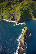 Keopuka Rock, Hana Coast, Maui, Hawaii
