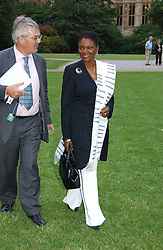 BARONESS AMOS at the annual Macmillan Cancer Support House of Lords vs the House of Commons Tug of War held in Victoria Tower Gardens on 20th June 2006.<br /><br />NON EXCLUSIVE - WORLD RIGHTS