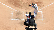 CHICAGO - JULY 09:  Melky Cabrera #53 of the Chicago White Sox bats against the Atlanta Braves on July 9, 2016 at U.S. Cellular Field in Chicago, Illinois.  The White Sox defeated the Braves 5-4.  (Photo by Ron Vesely) Subject:    Melky Cabrera