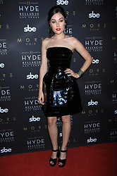 Sasha Grey is seen at Hyde Bellagio in Las Vegas, Nevada.