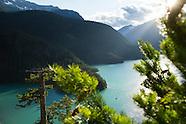 North Cascades National Park Photos - stock images