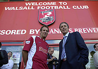 MERSON....PIC TIM EASTHOPE..10..... Pictured is soccer star Paul Merson signing for Walsall from Portsmouth