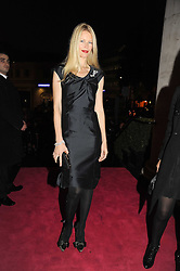CLAUDIA SCHIFFER at Vogue's Fantastic Fashion Fantasy Party in association with Van Cleef & Arpels to celebrate Vogue's Secret Address Book held at One Marylebone Road, London NW1 on 3rd November 2008.