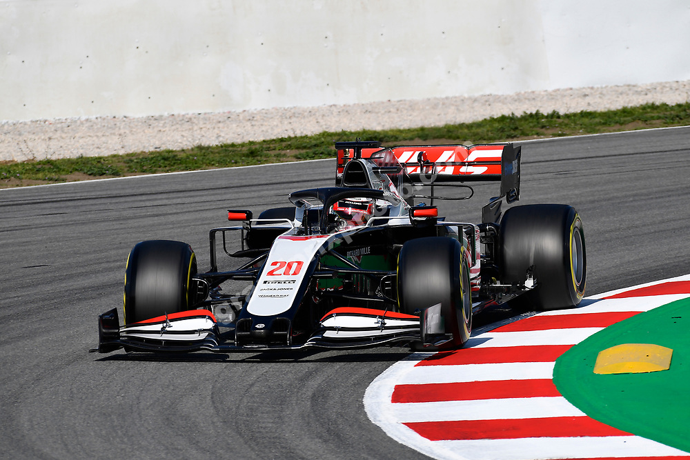 Kevin Magnussen (Haas-Ferrari) during the pre-season test  at the Circuit de Barcelona-Catalunya in February 2020. Photo: Grand Prix Photo