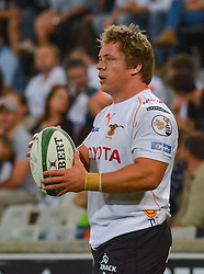 Torsten van Jaarsveld(C) of the Free State Cheetahs during the Currie Cup Premier division match between the The Free State Cheetahs and the Lions held at Toyota Stadium (Free State Stadium), Bloemfontein, South Africa on the 15th September 2016<br /> <br /> Photo by:   Frikkie Kapp / Real Time Images