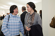 ALICE RAWTHORN; HELEN THORPE, The VIP preview of Frieze. Regent's Park. London. 16 October 2013