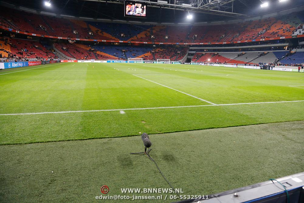 NLD/Amsterdam/20121114 - Vriendschappelijk duel Nederland - Duitsland, veld arena