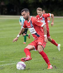 David Boysen (FC Helsingør) under kampen i Sydbank Pokalen, 1. runde, mellem Bispebjerg Boldklub og FC Helsingør den 2. september 2020 i Lersø Parken (Foto: Claus Birch).