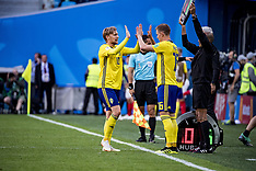 Sweden v Switzerland 3 July 2018