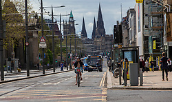 Princes Street earlier this afternoon.