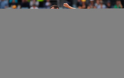 Australia's Josh Hazelwood celebrates the wicket of England's Jonny Bairstow during day five of the Ashes Test match at the WACA Ground, Perth.