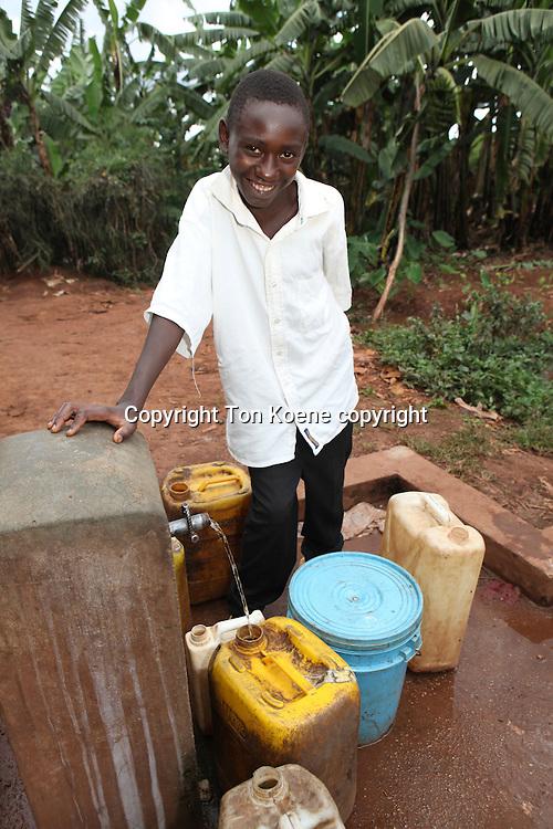 water well in Burundi