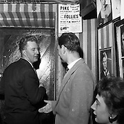 24/05/1957<br /> 05/24/1957<br /> 24 May 1957<br /> <br /> Four detectives arrived in a squad car at the Pike Theatre Club in Herbert Lane, Dublin, and took Mr. Alan Simpson, co-director of the theatre, to the Bridewell.