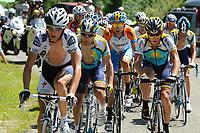 Sykkel<br /> Tour de France<br /> Foto: DPPI/Digitalsport<br /> NORWAY ONLY<br /> <br /> CYCLING - TOUR DE FRANCE 2009 - SAINT GIRONS (FRA) - 11/07/2009 <br /> <br /> STAGE 8 - ANDORRA LA VELLA > SAINT GIRONS - LEVI LEIPHEIMER (USA) / ASTANA - FRANCK SCHLECK (LUX) / TEAM SAXO BANK - LANCE ARMSTRONG (USA) / ASTANA