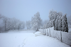 CZECH REPUBLIC VYSOCINA NEDVEZI 21DEC16 - Frost in the village of Nedvezi, Czech Republic.<br /> <br /> jre/Photo by Jiri Rezac<br /> <br /> © Jiri Rezac 2016