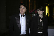 Bryan Ferry and Katherine Turner, The British Fashion Awards  2006 sponsored by Swarovski . Victoria and Albert Museum. 2 November 2006. ONE TIME USE ONLY - DO NOT ARCHIVE  © Copyright Photograph by Dafydd Jones 66 Stockwell Park Rd. London SW9 0DA Tel 020 7733 0108 www.dafjones.com