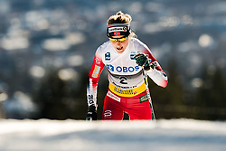 March 10, 2019 - Oslo, NORWAY - 190310 Therese Johaug of Norway competes in the women's 30 km classic technique mass start during the FIS World Cup on March 10, 2019 in Oslo..Photo: Jon Olav Nesvold / BILDBYRÃ…N / kod JE / 160424 (Credit Image: © Jon Olav Nesvold/Bildbyran via ZUMA Press)