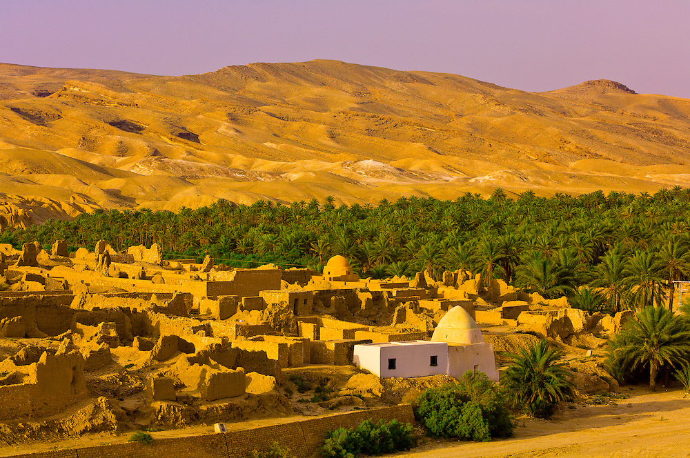 Ruins of village, Ksar Tamerza, Tunisia