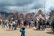 Dia de Los Muertos (Day of the Dead) is celebrated Nov. 1st in Sumpango, Guatemala with the Festival of Giant Kites (Festival de Barriletes Gigantes).