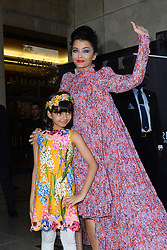 File photo dated September 28, 2019 of Aishwarya Rai and her daughter Aaradhya Bachchan attend the L'Oreal after party at Cafe de l'Homme at the Trocadero in Paris, France Aishwarya Rai Bachchan has been taken to hospital after testing positive for Covid-19 earlier this week. The Indian actress, a former Miss World and one of Bollywood's most famous faces, is being treated at Mumbai's Nanavati Hospital, it was reported. her daughter Aaradhya has also been taken to hospital. Photo by Favier/ABACAPRESS.COM