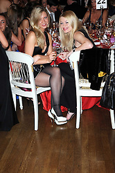Left to right, DARIA SIMONOVA and ANYA TERESHKOVA at the 13th annual Russian Summer Ball held at the Banqueting House, Whitehall, London on 14th June 2008.<br /><br />NON EXCLUSIVE - WORLD RIGHTS