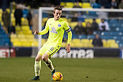 Millwall midfielder Ben Thompson (8) during the EFL Sky Bet League 1 match between Millwall and Peterborough United at The Den, London, England on 28 February 2017. Photo by Sebastian Frej.