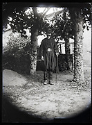 dressed up as an elderly man France 1923