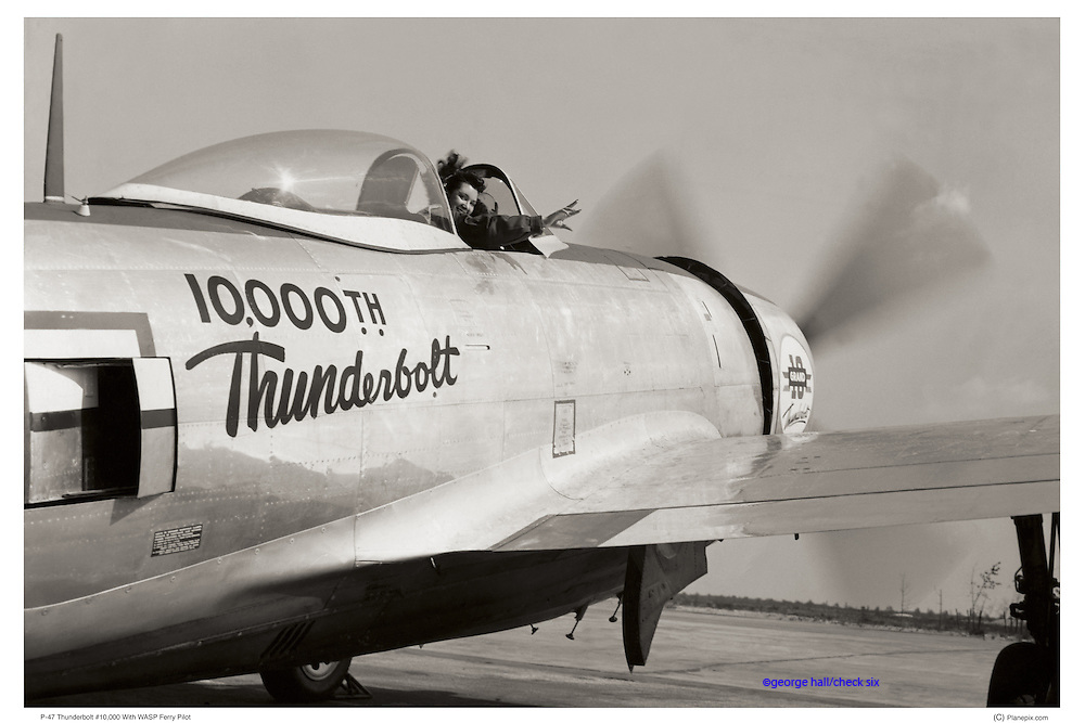 P-47 flown by WASP