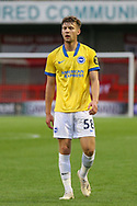 Brighton and Hove Albion striker Ben Wilson (58) portrait during the EFL Trophy Southern Group G match between AFC Wimbledon and Brighton and Hove Albion U21 at The People's Pension Stadium, Crawley, England on 22 September 2020.