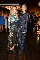 Left to right, EMILY BROOKS and MOON SAKER at the Launch Of Osman Yousefzada's 'The Collective' 4th edition with special guest collaborator Poppy Delevingne held in the Rumpus Room at The Mondrian Hotel, 19 Upper Ground, London SE1 on 24th November 2014, sponsored by Storm models and Beluga vodka.