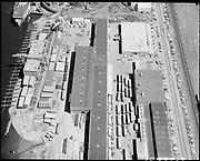 "Ackroyd 18335-03 ""FMC. aerials of yard 1000'. May 29, 1973."" (Gunderson, vicinity of new crane."